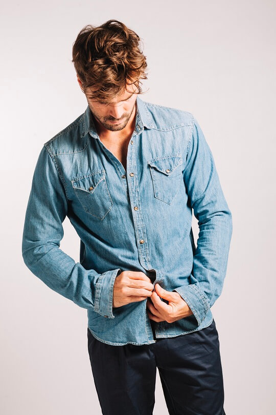 Man Blue Jeans
